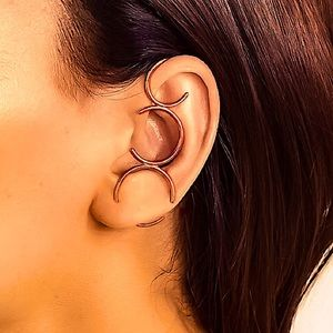 ⚜️[𝟯/$𝟯𝟴]⚜️Rose Gold Circle Simple Earring NEW